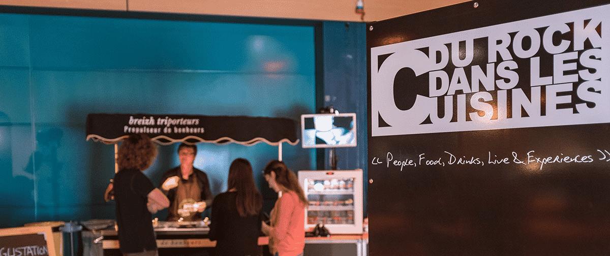 """Apitic partenaire """"Du Rock dans les Cuisines"""" tournée 2018 !"""