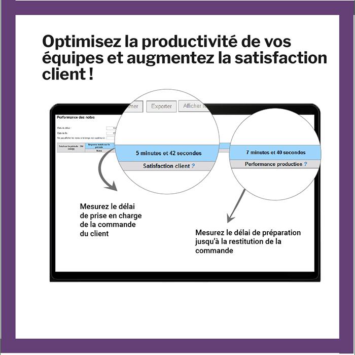 Optimisez la productivité de vos équipes et augmentez la satisfaction client